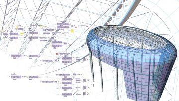 پوسته نما پارامتریک برای ساختمانهایی با نمای پیچیده